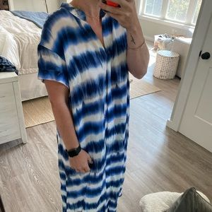 H&M tie dye dress